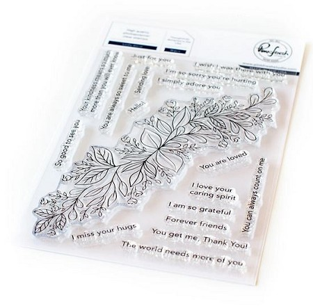 Pinkfresh Studio - Leafy Decor Clear Stamps