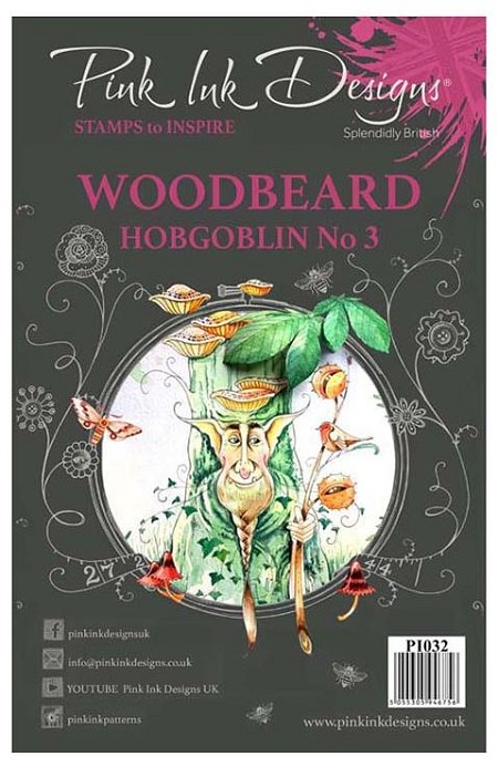 Pink Ink Designs A5 Clear Stamp Set - Woodbeard Hobgoblin No. 3