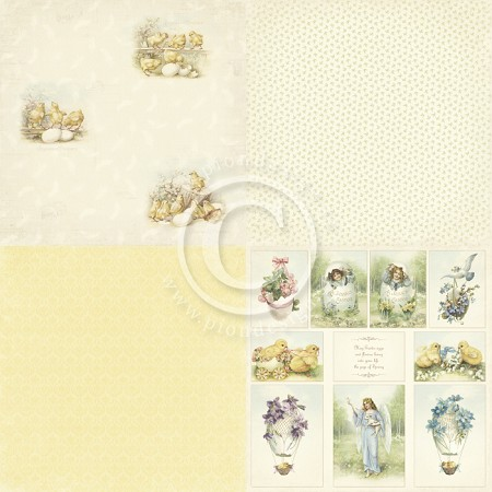 "Pion Design - Easter Greetings Collection - 12""x12"" Single Sided cardstock - 6X Easter Morning"
