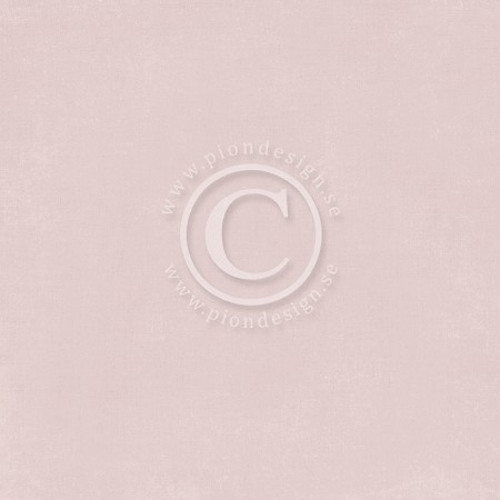 "Pion Design - Palette Solids - 12""x12"" Double Sided cardstock - Pion Dusty Rose I"