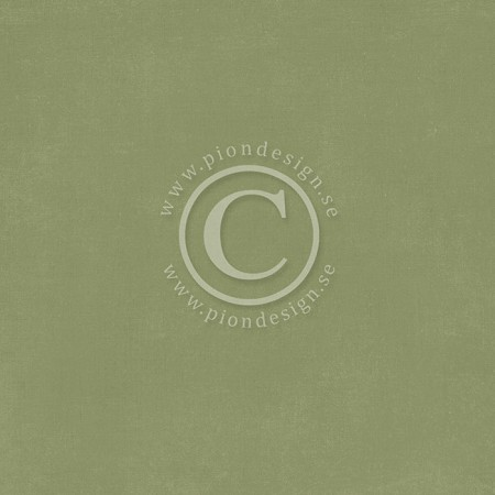 "Pion Design - Palette Solids - 12""x12"" Double Sided cardstock - Pion Green III"