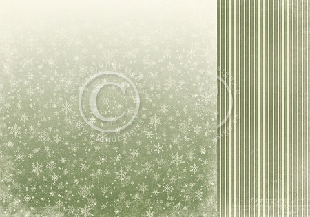 "Pion Design - A Christmas To Remember Collection - First Snow - 12""x12"" Double Sided paper"