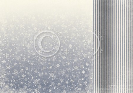 "Pion Design - A Christmas To Remember Collection - Ice Crystals - 12""x12"" Double Sided paper"