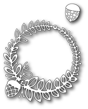 Poppy Stamps - Die - Grendon Wreath