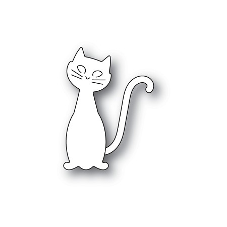 PoppyStamps - Die - Friendly Cat