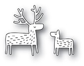 Poppy Stamps - Die - Whittle Deer