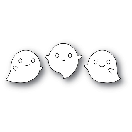 PoppyStamps - Die - Squeaker Ghosts