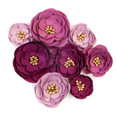 Prima Flowers® Darcelle Collection - Plum Afternoon