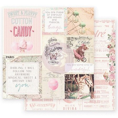 "Prima - Dulce Collection - Some Kind Of Wonderful 12""x12"" paper"