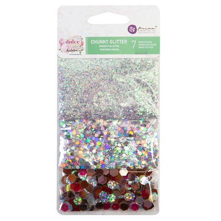 Prima - Dulce Collection - Chunky Glitter