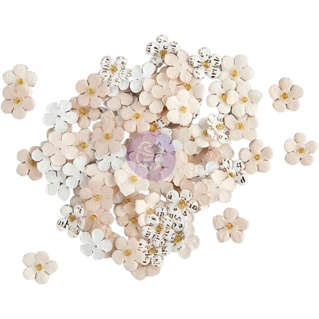 "Prima - Planner Flowers - Lucy (100 tiny flowers - 0.5"")"