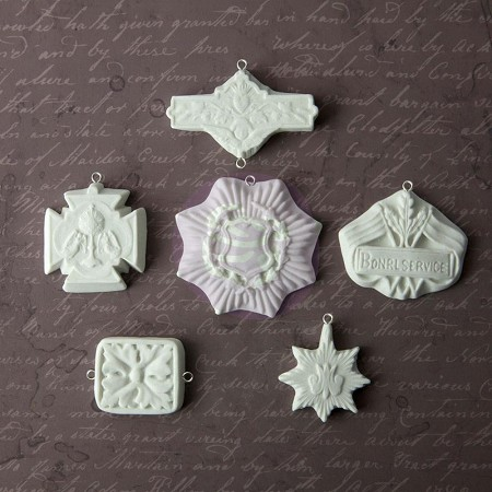 Prima - Relics and Artifacts Archival Cast by Sandra Evertson - Medallions