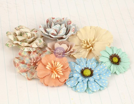 Prima - Delight Collection - Mulberry Paper Flowers 4 :)