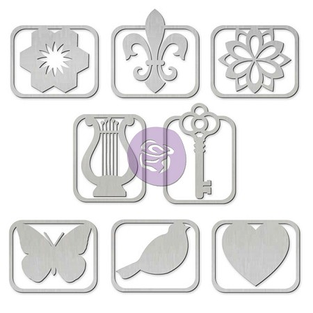 Prima - Princess Collection - Metal Paper Clips