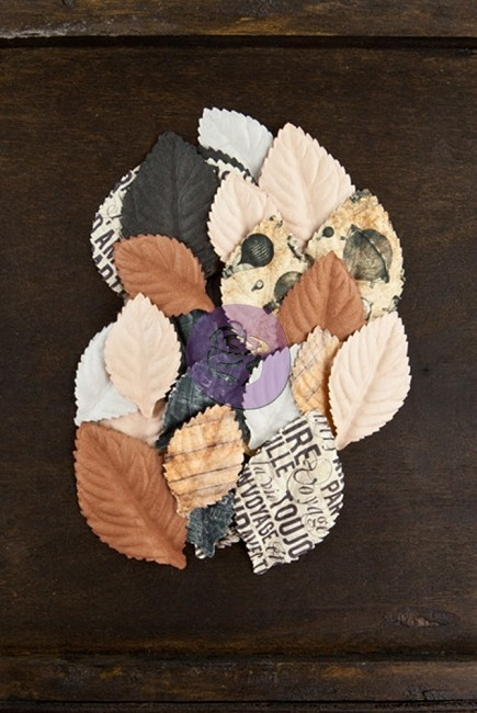 Prima - Cartographer Collection -  Paper Flowers - Wanderer