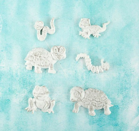 Prima - Shabby Chic Treasures by Ingvild Bolme - Resin Reptiles