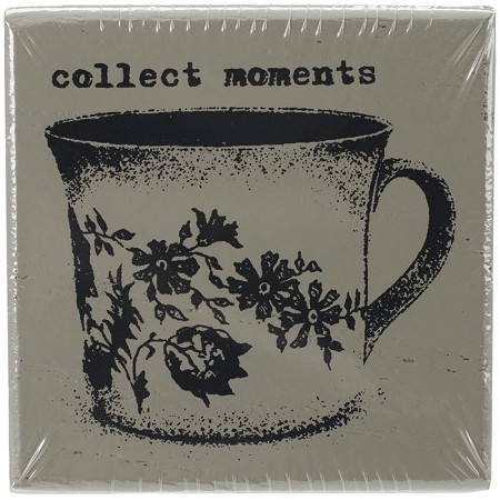 Prima - Wood Mounted Stamp - Collect Moments by Finnabair