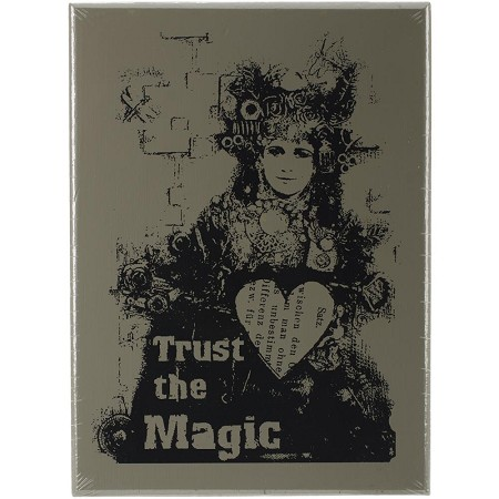 Prima - Wood Mounted Stamp - Trust The Magic by Finnabair