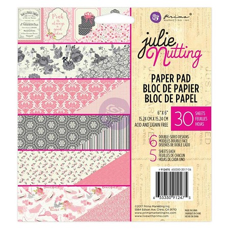 Prima - Julie Nutting Collection - 6x6 Paper Pad