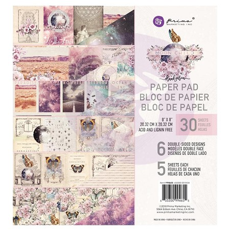Prima - Moon Child Collection - 8x8 Paper Pad