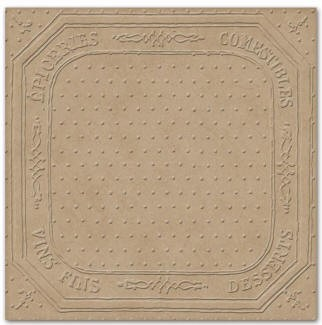 Prima Embossed Chipboard - Recipes