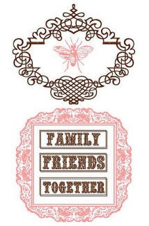 Prima Clear Stamp - Family