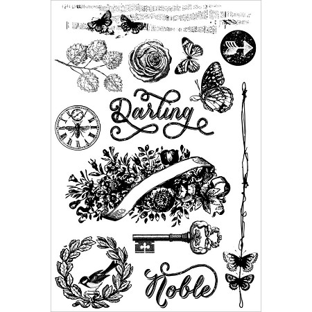 Prima - Royal Menagerie Collection - Cling Stamps Darling/Noble :)