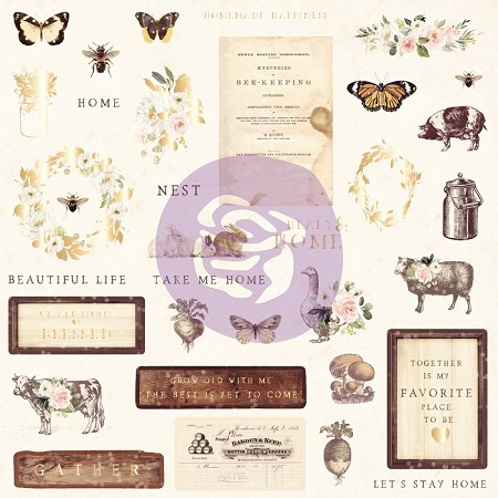 Prima - Spring Farmhouse Collection - Ephemera 1