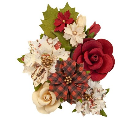 Prima - Christmas In The Country Collection Flowers - Christmas Song