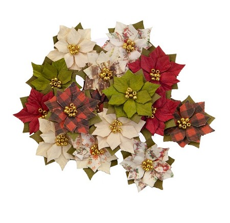 Prima - Christmas In The Country Collection Flowers - Winter Wonderland