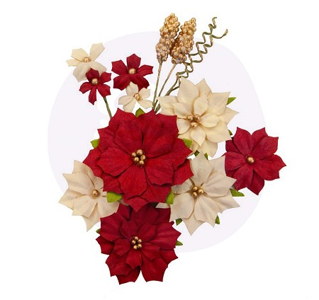 Prima - Christmas In The Country Collection Flowers - Joyful