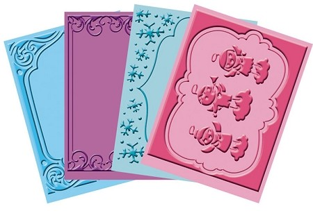 "Cuttlebug Embossing Folder Bundle - ""Winter Frolic"""