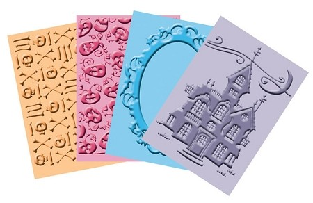 "Cuttlebug Embossing Folder Bundle - ""Happy Hauntings"""