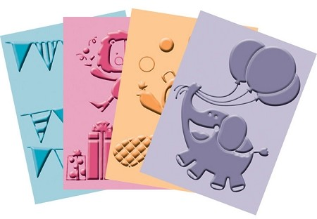 "Cuttlebug Embossing Folder Bundle - ""Birthday Bash"" :)"