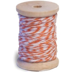 Queen & Co. - Twine - Orange/White