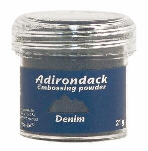 Ranger Adirondack Embossing Powders - Denim (1 oz) :)
