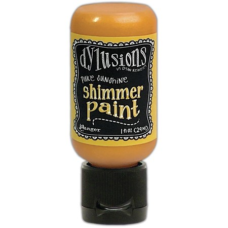 Ranger - Dylusions Shimmer Paint - Pure Sunshine