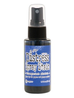 Ranger - Tim Holtz Distress Spray Stain - Blueprint Sketch  :)