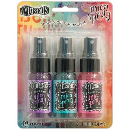 Ranger - Dylusions Mica Sprays (1oz x 3 colors)