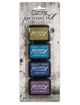 Ranger - Tim Holtz Distress Archival Mini Ink Pads - Kit #2