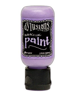 Ranger - Dylusions Acrylic Paint - Laidback Lilac - by Dyan Reaveley
