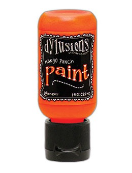 Ranger - Dylusions Acrylic Paint - Mango Punch - by Dyan Reaveley