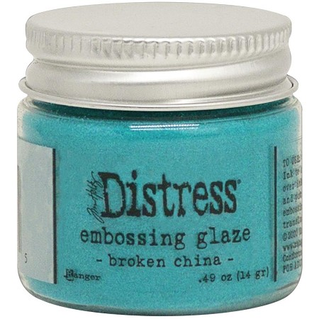 Ranger - Tim Holtz Distress Embossing Glaze - Broken China