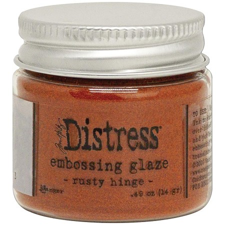 Ranger - Tim Holtz Distress Embossing Glaze - Rusty Hinge