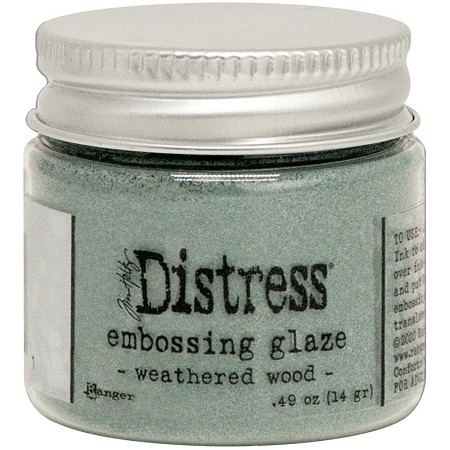 Ranger - Tim Holtz Distress Embossing Glaze - Weathered Wood
