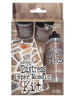 Ranger - Distress Paper Mosaic Kit by Tim Holtz