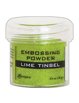 Ranger - Embossing Powder - Lime Tinsel