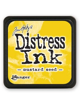 Ranger - Tim Holtz Mini Distress Ink Pad - Mustard Seed