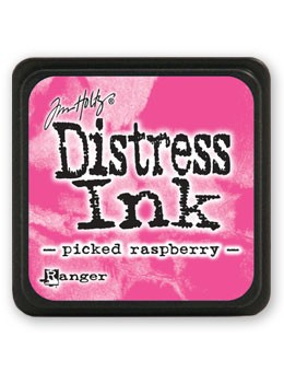 Ranger - Tim Holtz Mini Distress Ink Pad - Picked Raspberry
