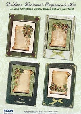Reddy Creative Cards - 3D Card Kit - Old Parchment